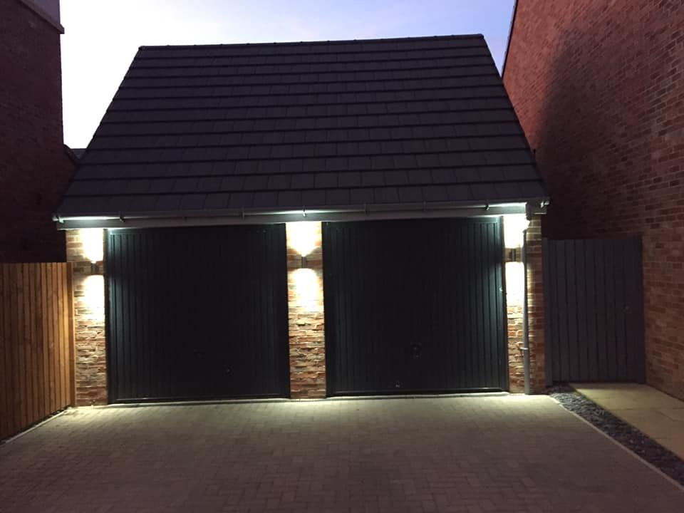 Garage up and down lights